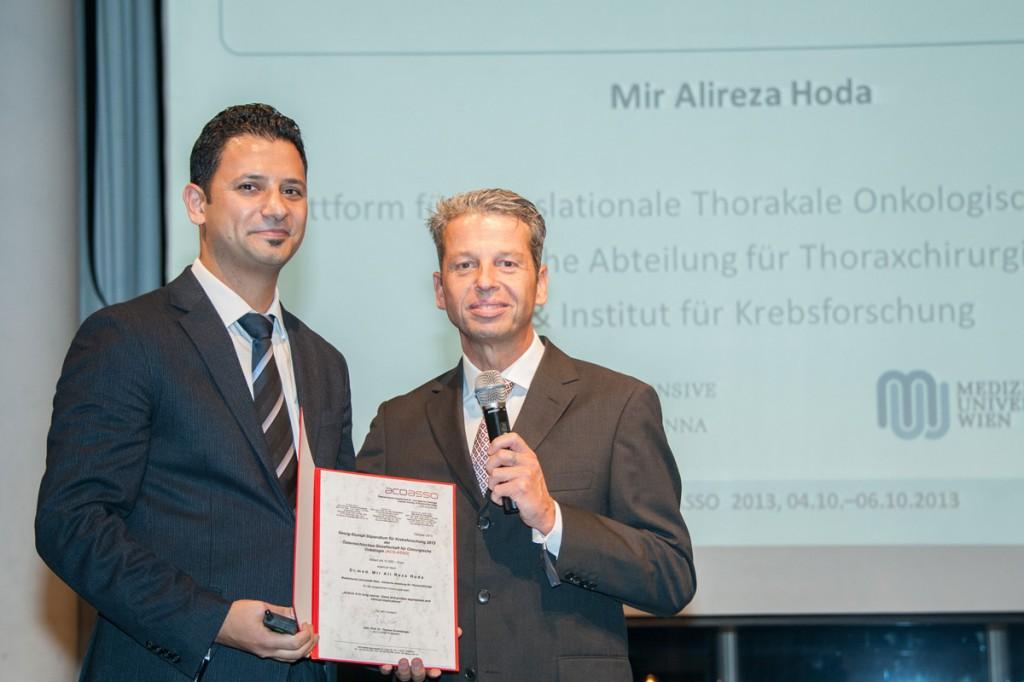 Georg-Stumpf-Stipendium 2013 für Dr. Mir Ali Reza Hoda