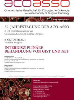 37. Jahrestagung der ACO-ASSO 2020