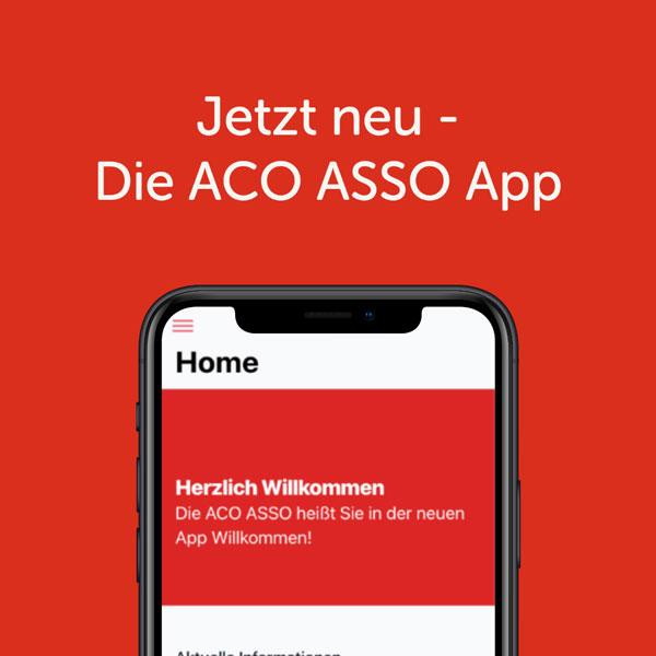 Die ACO-ASSO APP